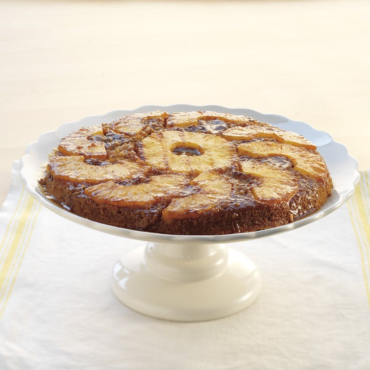 Grilled Pineapple Upside-Down Cake