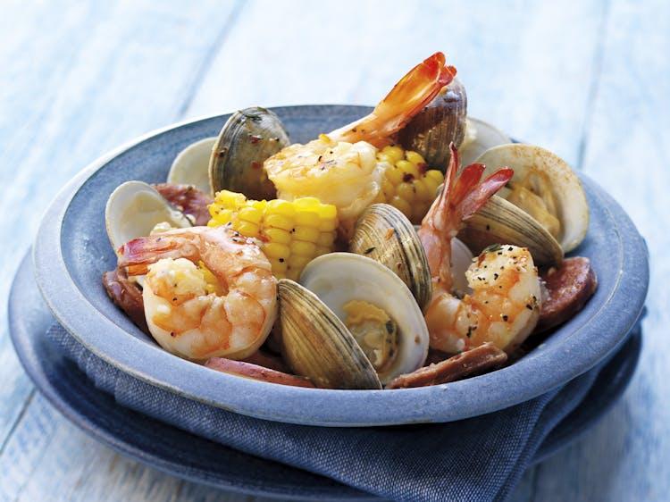Cajun Style Clambake Seafood Recipes Weber Grills