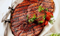 Southwest Grilled Ham Steaks