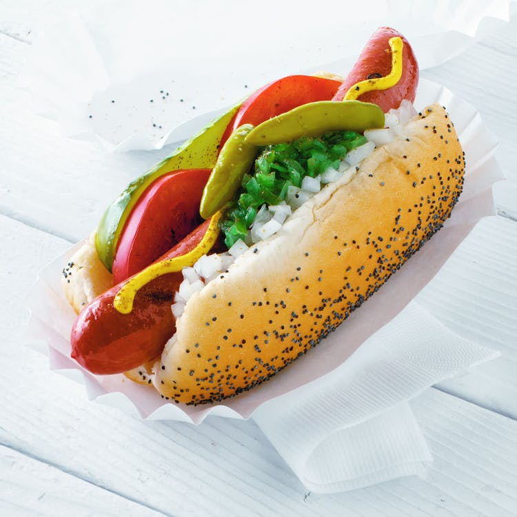 Weber Gas Grill Parts >> Chicago-Style Hot Dogs | Red Meat Recipes | Weber Grills