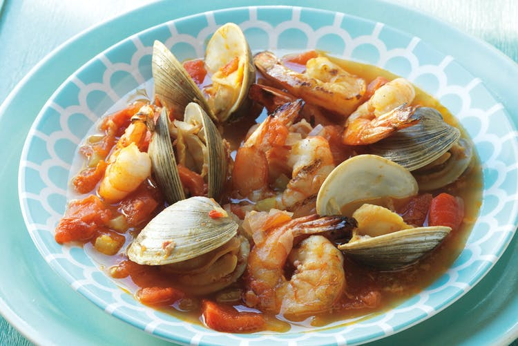 Grilled Clam And Shrimp Cioppino Starters Recipes
