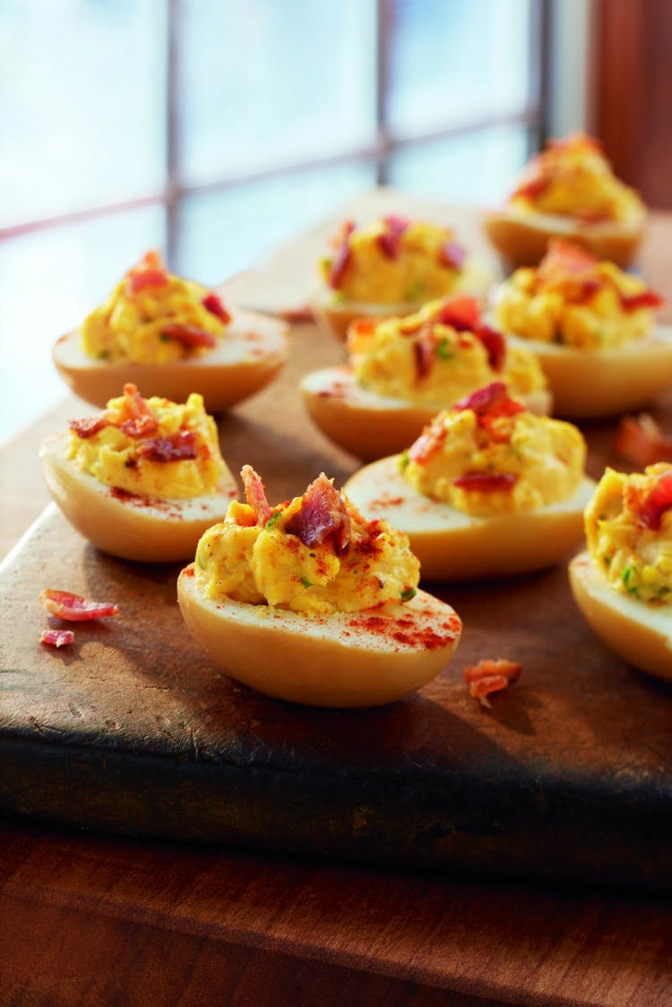 Smoked Deviled Eggs Starters Recipes Weber Grills