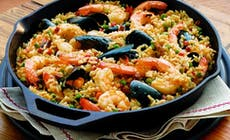 Barbecued Seafood Paella