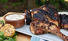 Chermoula Chicken With Coriander Yoghurt