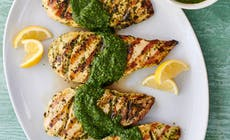 Chicken Breasts With Green Herb Salsa