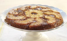 Grilled Pineapple Upside Down Cake