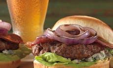 Rec Burger Bekon Goluboy Syr Krasniy Luk