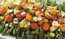 Rec Salat Iz Sparzhi C Tomatami