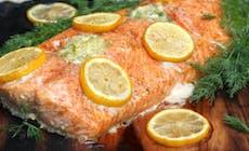 Salmon Lemon Butter300