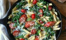 Skillet Sausage Pasta300 2