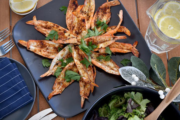 Barbecued Prawns | Seafood Recipes | Weber BBQ Australia
