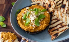 Caramelised Pumpkin And Toasted Cashew Dip