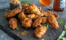 Dry Rubbed Chicken Wings