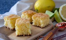Easy Lemon Coconut Slice