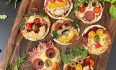 Funny Face Pizza 1