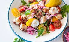 Grilled Octopus Summer Salad