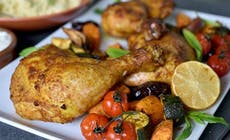 Morroccan Roast Chichen And Vegetable