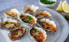 Parmesan And Chilli Butter Oysters