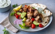 Rotisserie Greek Chicken Thighs