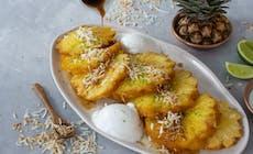 Rotisserie Pina Colada Pineapple
