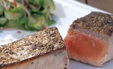 Salmon Fillett With Crispy Skin