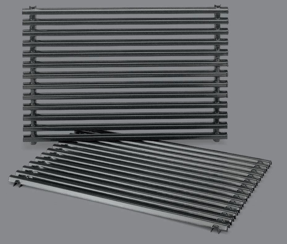 Porcelain-enameled steel grill cooking grates - What's the best grill grate? - Weber Grills