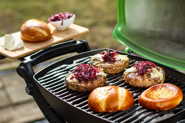 Brie-Cheese-with-Red-Onion-Jam-Cheeseburgers