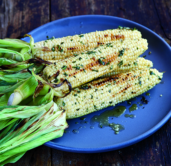 Corn-on-the-Cob-with-Basil-Parmesan-Butter