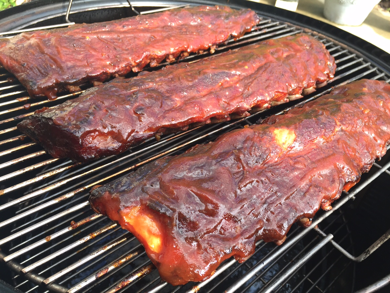 Ribs for 4th of July BBQ grilling