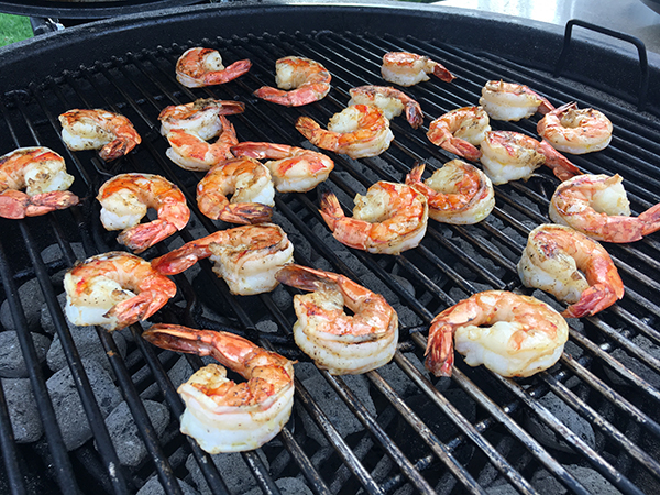 Shrimp-on-a-Charcoal-Grill