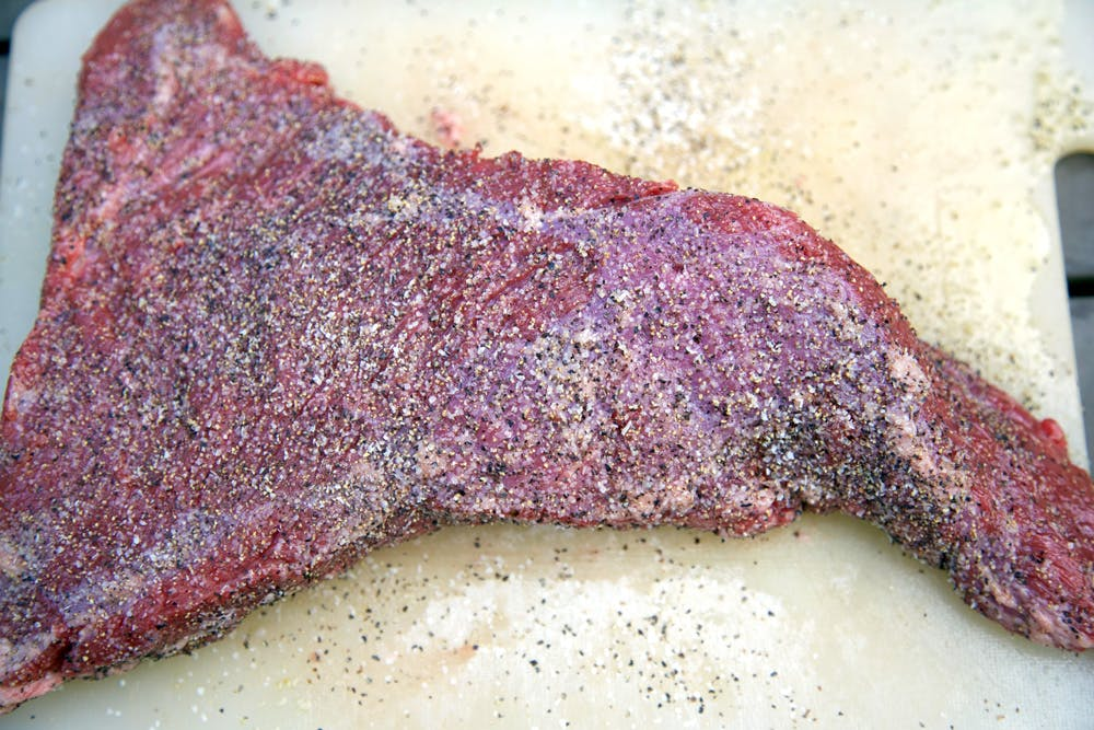 Seasoned Smoked Tri-Tip Beef - Grilling Inspiration