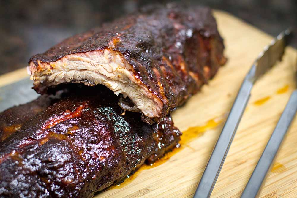 Smoked Baby Back Ribs - 10 charcoal grill recipes – Weber Grills